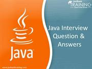 Top 10 Java Interview Question and Answers for Fresher