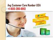 Avg Customer Care Number USA +1-800-280-8913