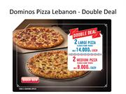Dominos Pizza Lebanon Double Deal