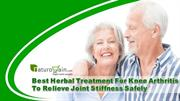 Herbal Treatment For Knee Arthritis To Relieve Joint Stiffness Safely