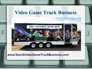 Game Truck Business
