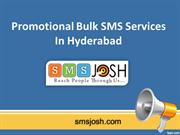 Promotional Bulk SMS Services in Hyderabad, Promotional Bulk SMS Provi