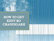 Where to buy best Kent ro Chandigarh at low cost-Purifier kart