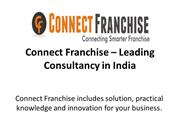 Connect Franchise – Leading Consultancy in India