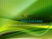 Buy best Solar Led Lamp only at  I-solarlite
