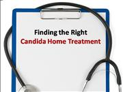 Finding the Right Candida Home Treatment