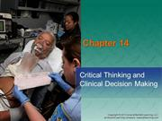 Chapter_14 PPT Clinical Thinking and Decision Making