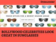 Hot and Cool Celebrities look great in Sunglasses