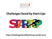 Challenges faced by Start-Ups