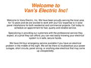 Commercial Licensed Electrician for Emergency, Electrical Contractor,