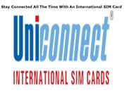 Stay Connected All The Time With An International SIM Card