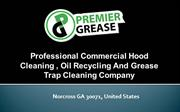 Get the best grease trap removal services from Premier Grease
