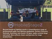 Cheap Stage Hire Sydney - Mobile Stagez