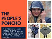 Cycle Rain Poncho - The People's Poncho