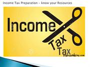 Income_Tax_Preparation_Know_You