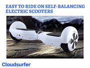Easy To Ride On Self-Balancing Electric Scooters