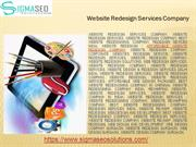Website Redesign Services Company