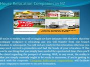 House Relocation Companies in NZ