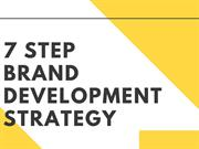 7 Step to Develop Brand Strategy | Newton Consulting