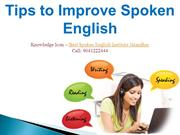 Spoken English Learning Tips from Knowledge Icon