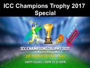 ICC champions Trophy 2017 special