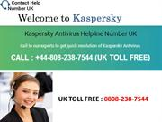 Kaspersky customer care number uk 0808-238-7544