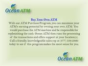 ATM Solutions by Ocean ATM