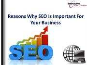 Reasons Why SEO Is Important For Your Business