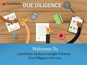 Affordable Customer & Enhanced Due diligence Services
