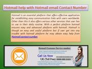 Contact over hotmail technical expert to recover hotmail account