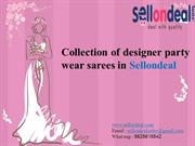 Designer party wear sarees online shopping