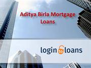 Aditya Birla Mortgage Loans, Apply For Aditya Birla Mortgage Loans Onl