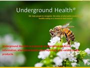 UndergroundHealth – provide home remedies to boost the immune system