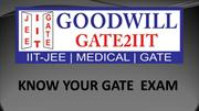 Know your GATE Exam