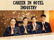 CAREER IN HOTEL INDUSTRY