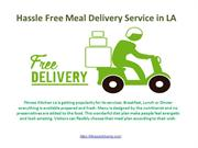 Free Healthy Meal Delivery Service Provider in Los Angeles