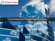 Commercial Office Cleaning Service | Floor Maintenance