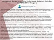 Interstate Cold Storage, Inc. to Attend the 2nd Annual Global Cold