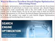 Ways to Discover Excellent Search Engine Optimization Advertising Firm