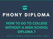 High School Diploma In OneDay