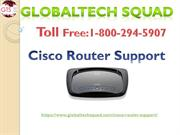 Cisco Router Support Toll Free:1-800-294-5907