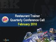 CRT January 2010 Quarterly Call Presenta
