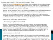 Instructions to pick the correct laminate floor