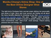 Monika Chiang's Online Shop- One of the Best Online Designer Shoe Stor