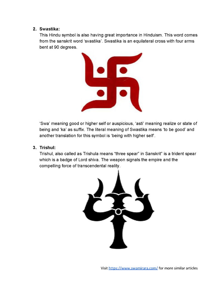 Hinduism Symbols Pictures Gallery Meaning Of This Symbol