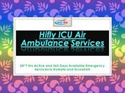 Get India's Best and Low Cost Air Ambulance Service in Kolkata