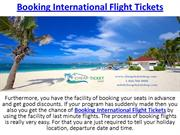 Booking International Flight Tickets | Cheap Ticket Shop