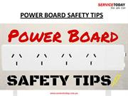 Presentation on Power Boards Safety Guidelines