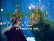 The Grinch Poem By Catalina Delima