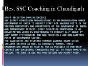 best ssc coaching in Chandigarh